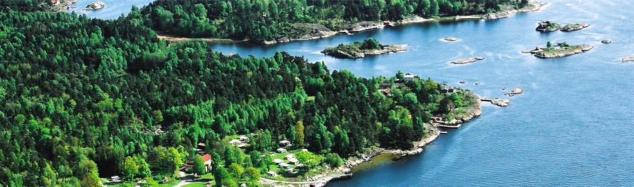 Bjørkøya, nye hytter i Langesundsfjorden